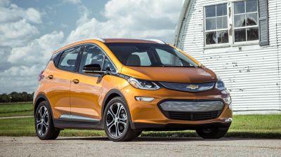 Электромобили Chevrolet Bolt могут непроизвольно загореться