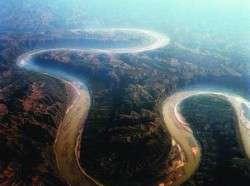 Частичный поворот сибирских рек