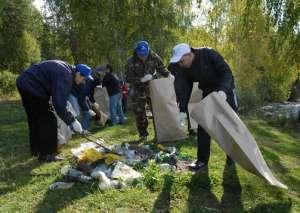 Субботник по уборке мусора. Фото: http://z-city.ru