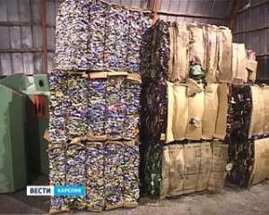 В Петрозаводске активно занялись раздельной переработкой мусора. Фото: Вести.Ru
