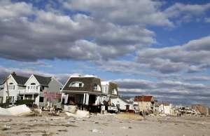 Последствия урагана Сэнди. Фото с сайта http://sciencedaily.com