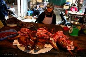 Собачье мясо продают в азии фото http