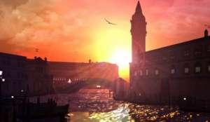 """В Венеции временно запретили моторные лодки. Фото с сайта """"Голос России"""""""