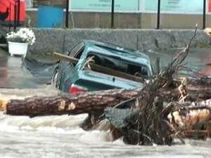 В Норвегии уходят под воду магазины и жилые дома. Фото: Вести.Ru