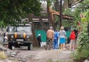 На Мариуполь обрушился шквалистый ветер, более 70 домов обесточены. Фото: telegraf.by