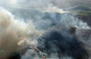 В Красноярском крае горят более шести тысяч гектаров тайги. Фото: lentaregion.ru