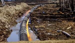 """В Северной Дакоте за год произошло почти 300 случаев разлива нефти, скрытых от общественности. Фото с сайта """"Голос России"""""""