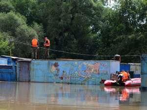 В Уссурийске объявлено экстренное предупреждение: возможно новое наводнение. Фото с сайта newsru.com