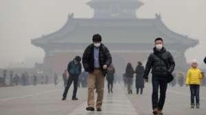 Загрязнение воздуха в Китае. Фото: http://media.publika.md