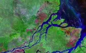 Устье реки Амазонки. © Wikipedia