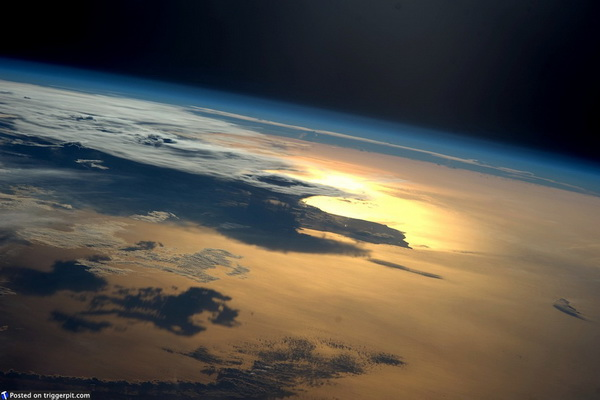 Виды Земли с МКС