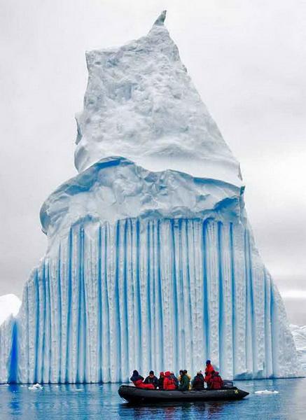 Удивительные ледники и айсберги. Часть I