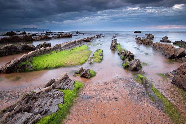 Турбидиты - необычные образования на побережье Испании