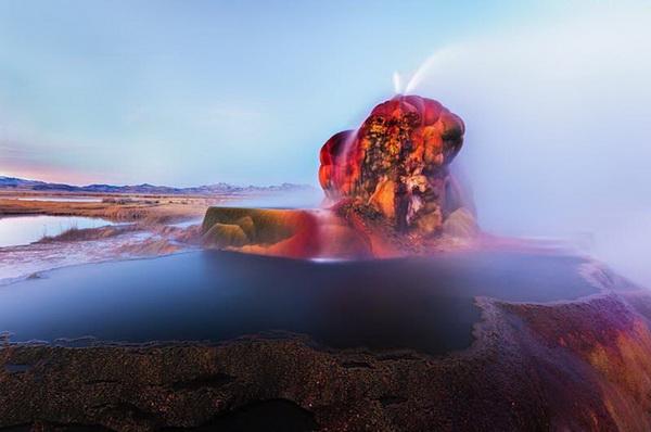 Гейзер Флай - скрытое сокровище Невады