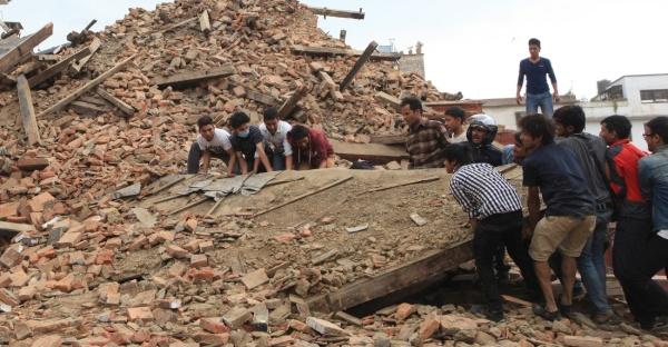 Фотофакт: Страшное землетрясение в Непале