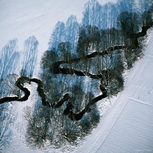 Фотофакт: Сногсшибательные фото водоемов Земли с воздуха