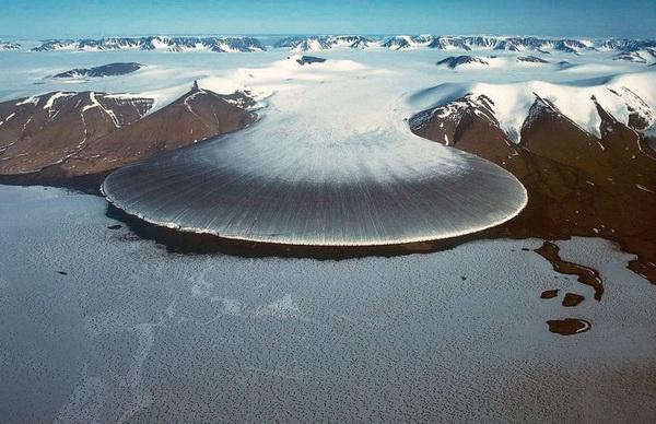 Фотофакт: Ледник Слоновья Нога